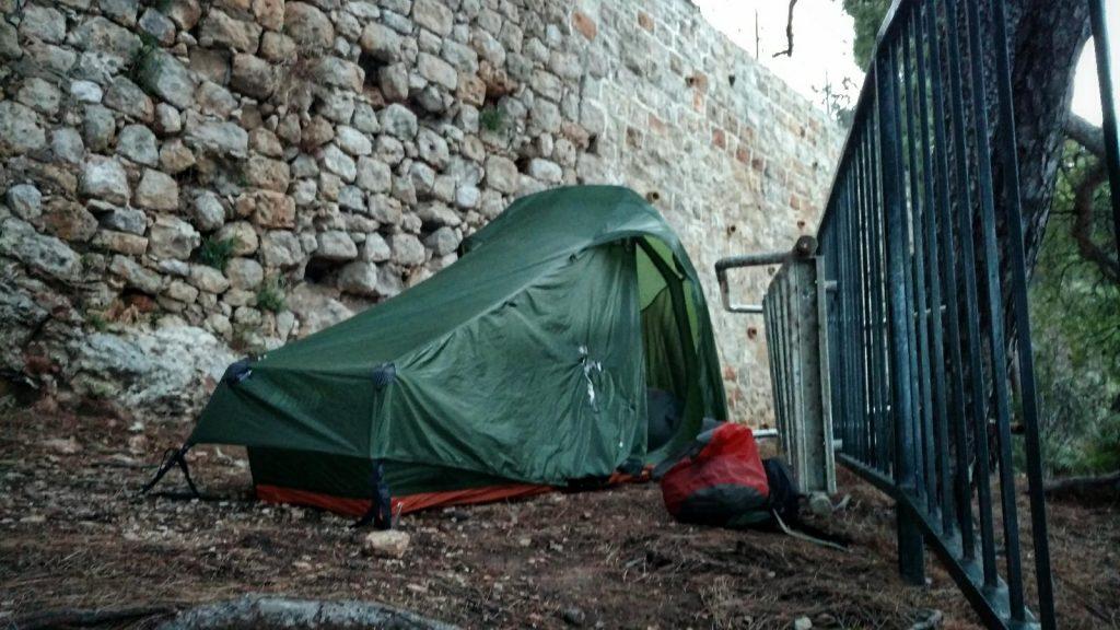 Wild kamp Dubrovnik