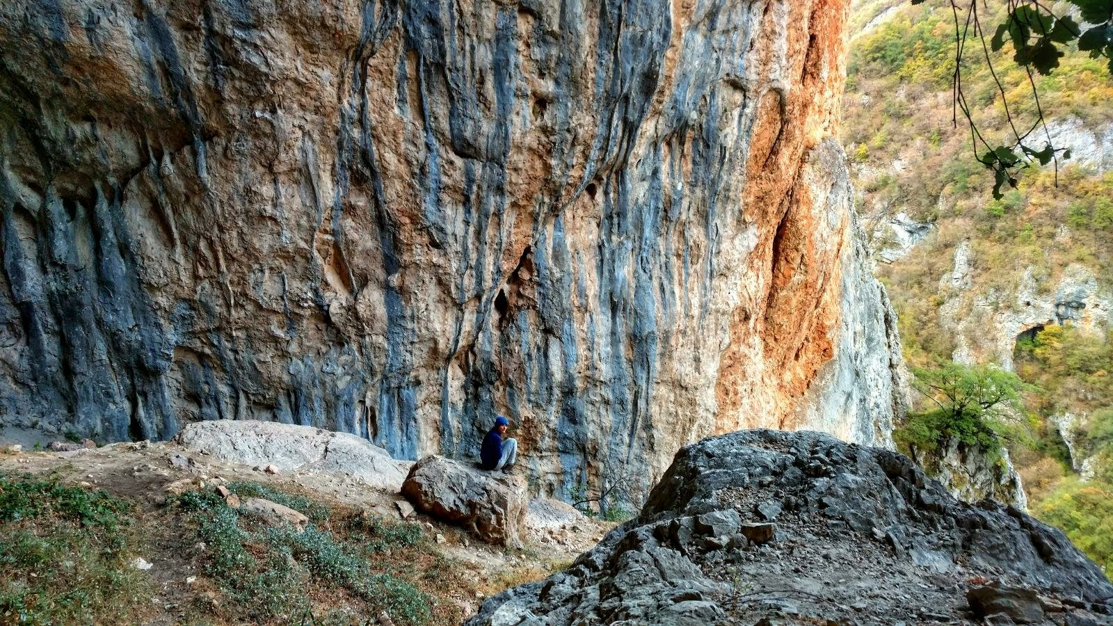 THE CLIMBING CAVE in Mavrovo National Park