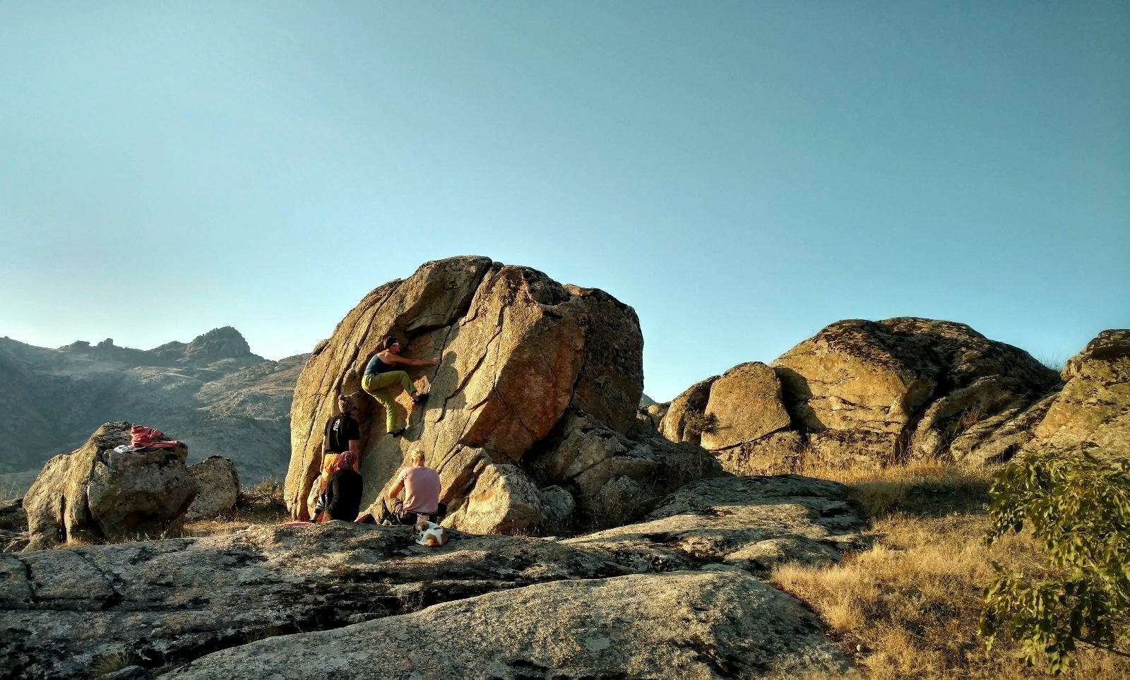 First boulder in Prilep