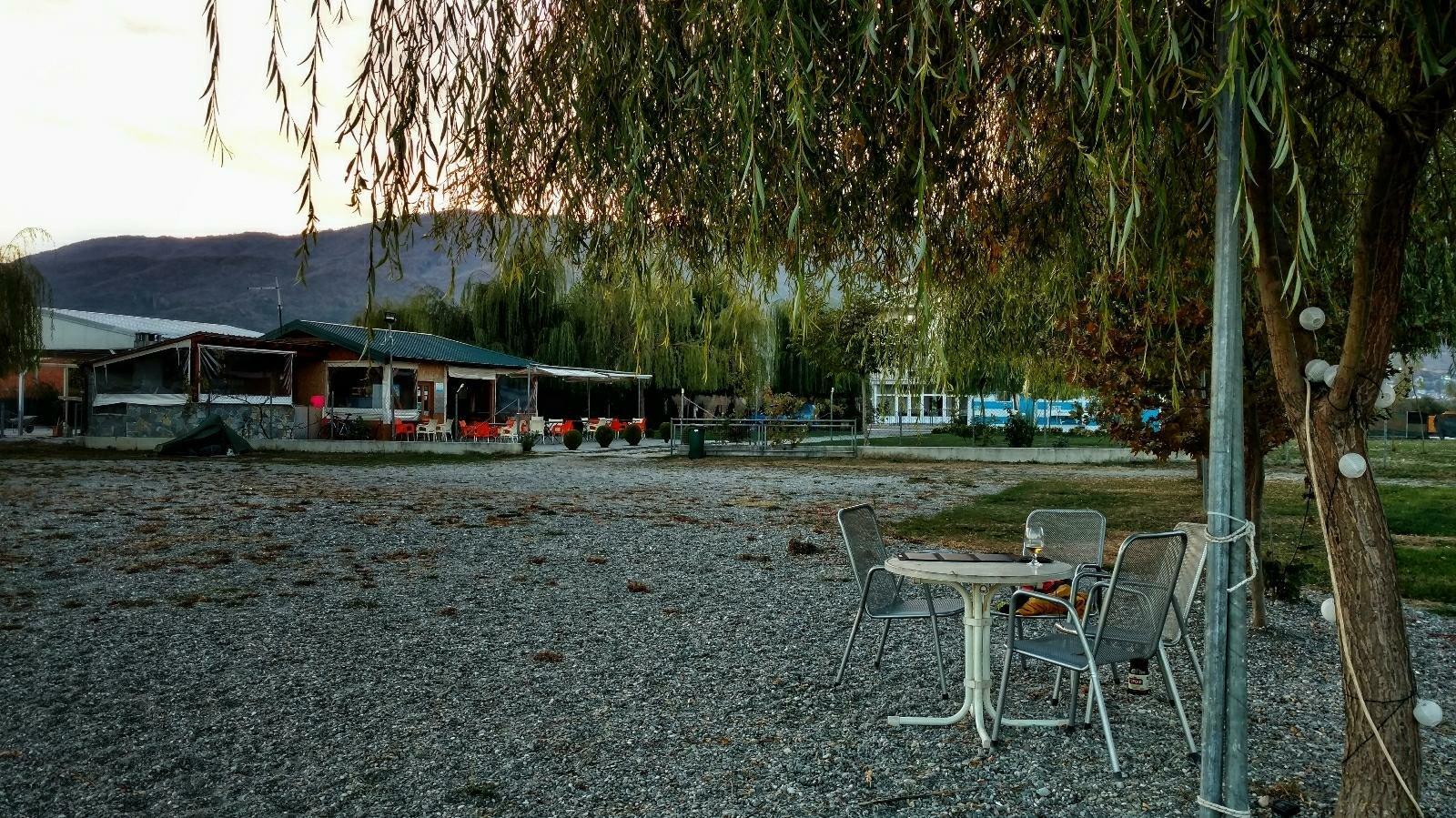 Sunny camp, Kališta