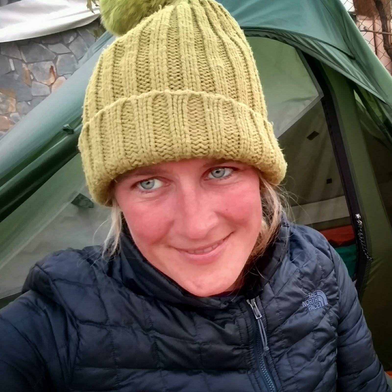 Selfie with beanie | Grom Artic Cold to Indian Summer and back