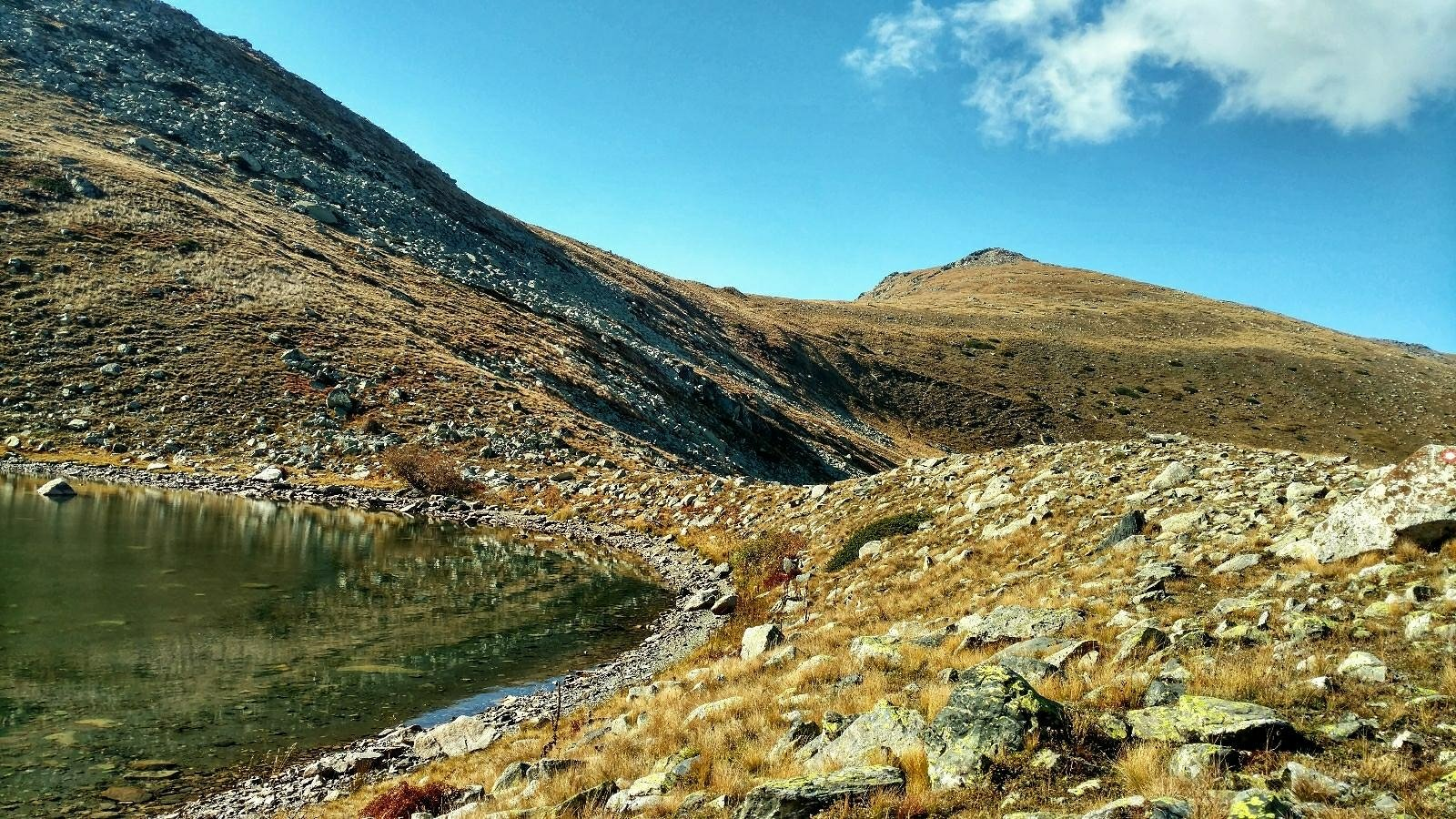 Pelister National Park, small lake on Baba Mountain
