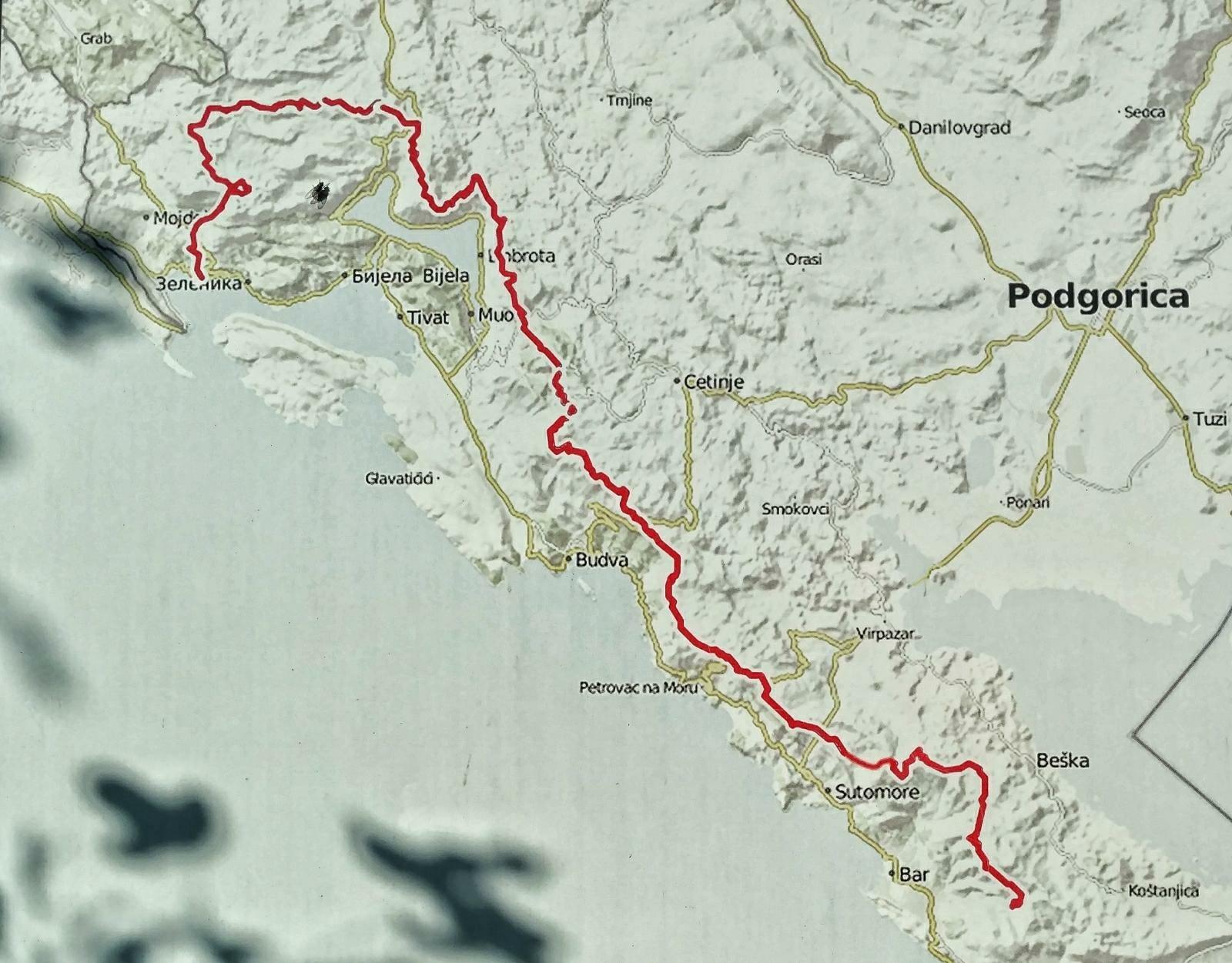 Montenegro's Coastal Traverse - Primorska Planinarska Transverzala