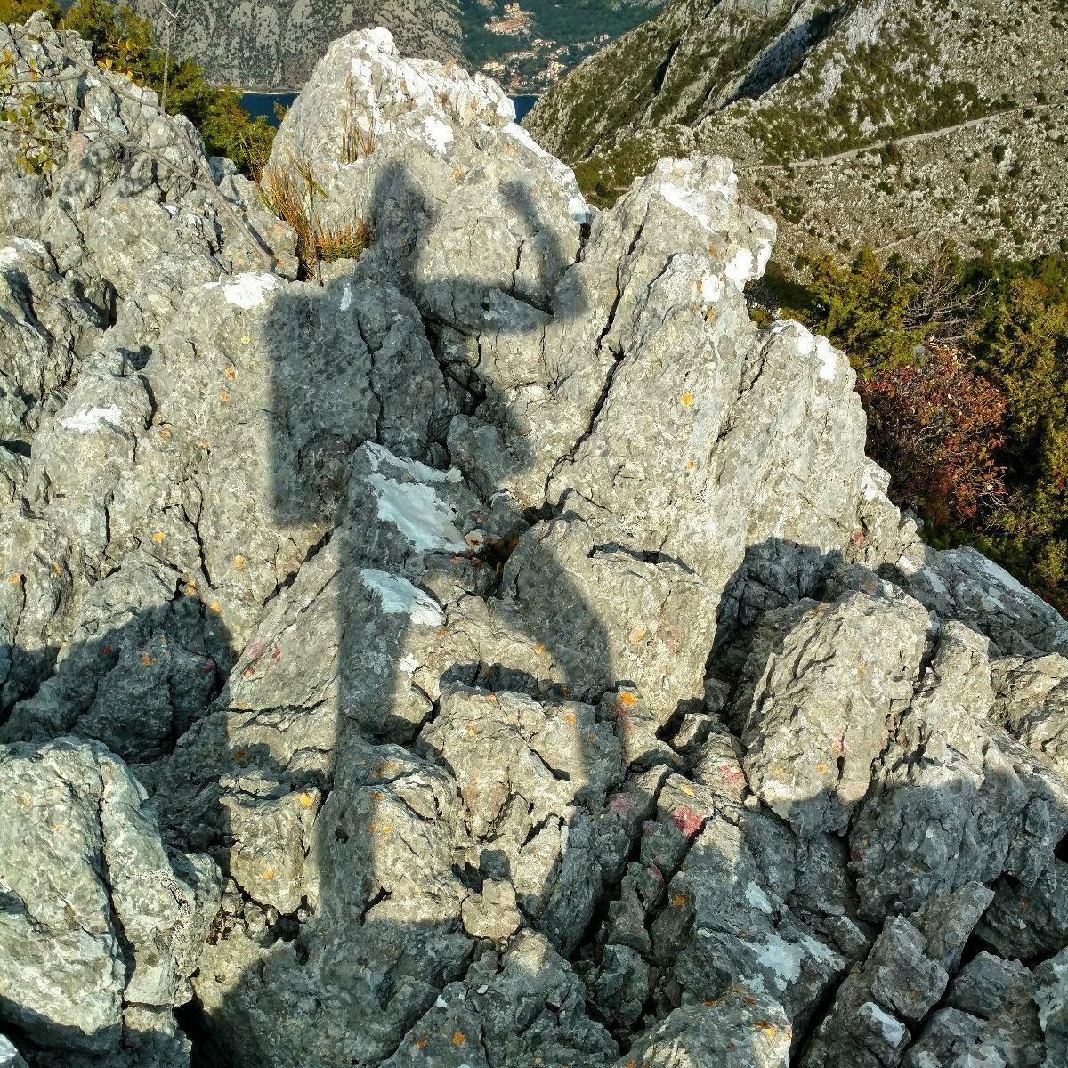 Shadow fun | Hiking Montenegro