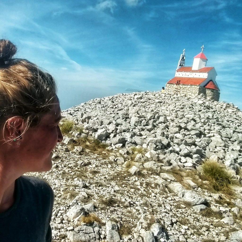 Op de top van rumija | Heb me niet laten leiden door angsten