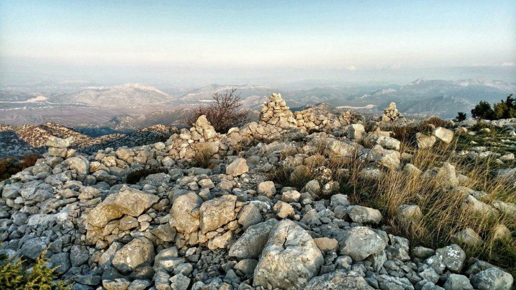 Love rocks at the Biokovo Hiking Trail