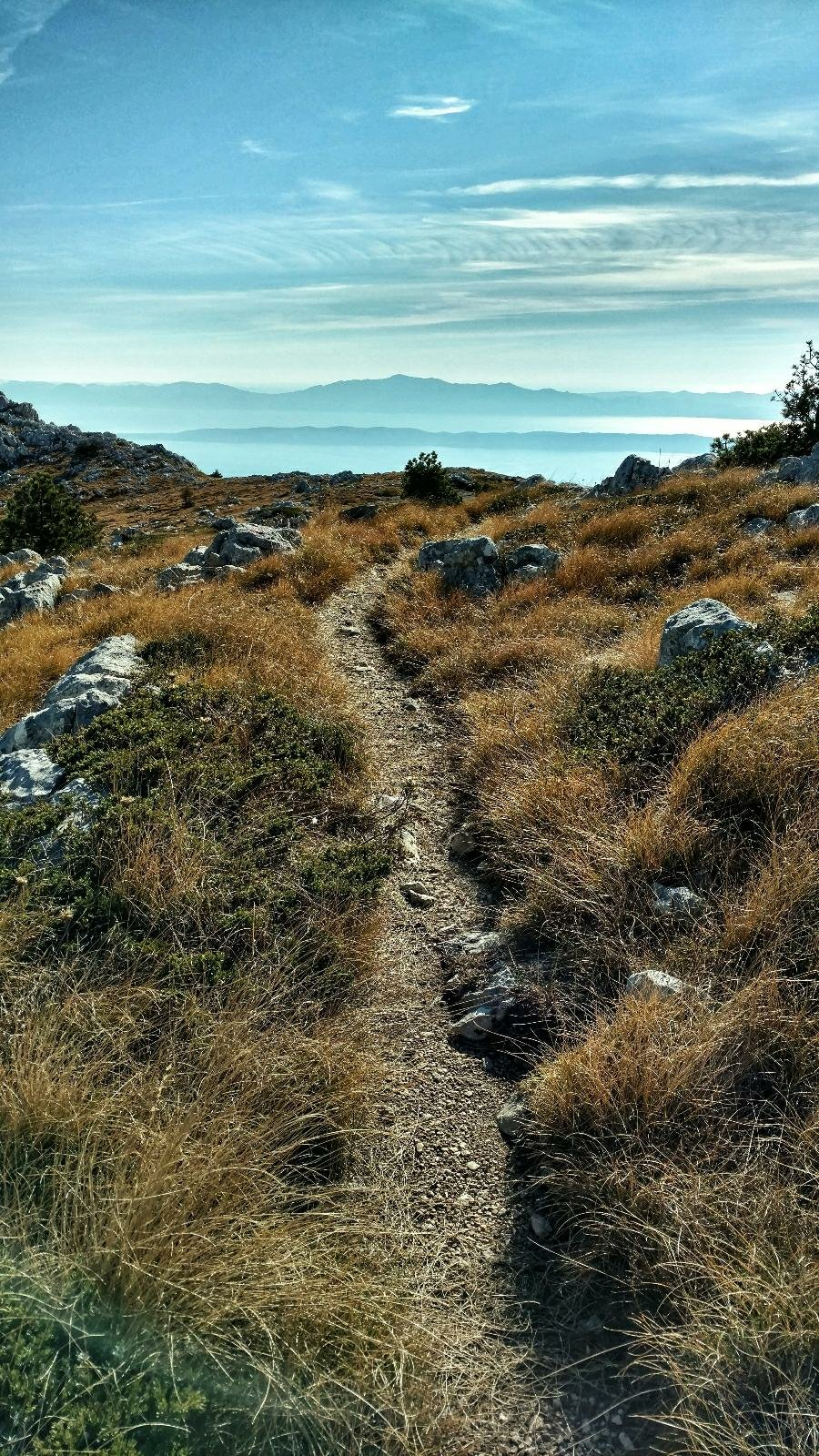 Via Dinarica CROATIA Blue Trail BIOKOVO