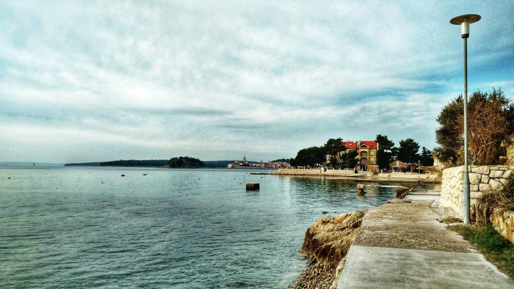 Promenade on the Island of Rab