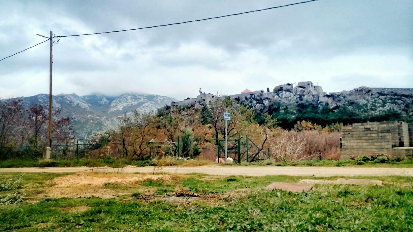 View on Klis fortress, Croatia | BLOG Kozjak, Krka National Park & the Coast