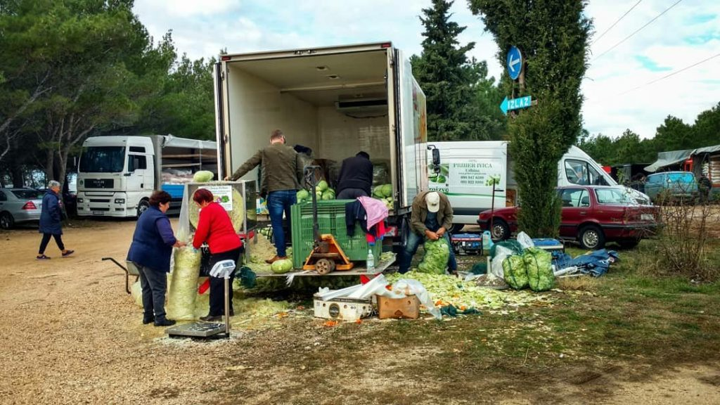 Market in Benkovac