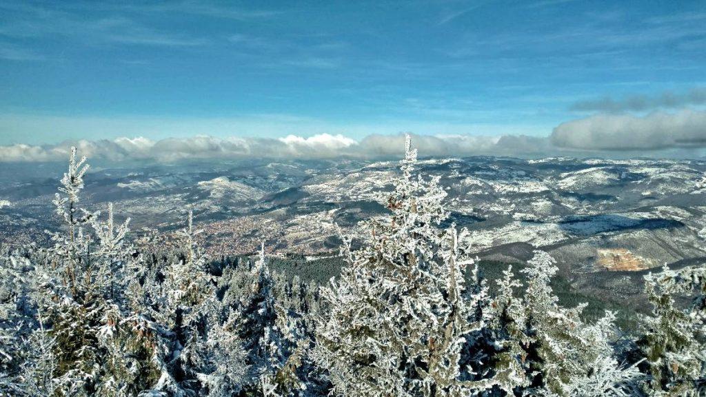 View from Trebević vrh