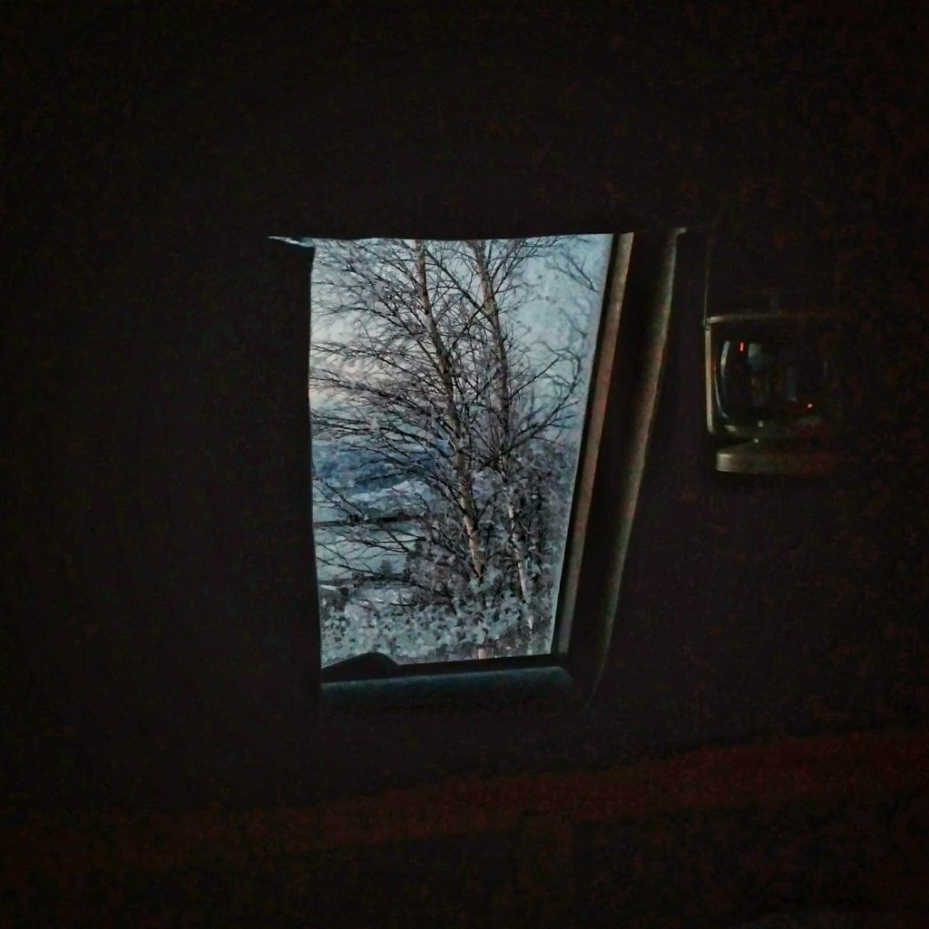 UP and DOWN | Jure Franko hut Window view