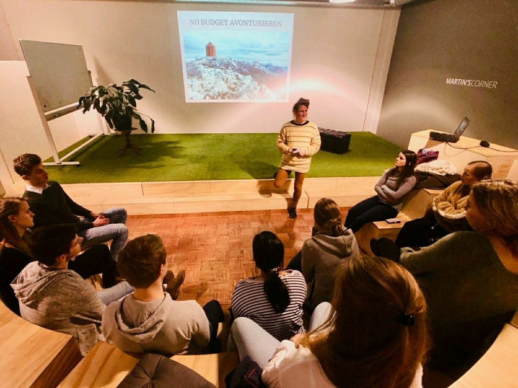 Presentation about hiking | EVAdinarica Project