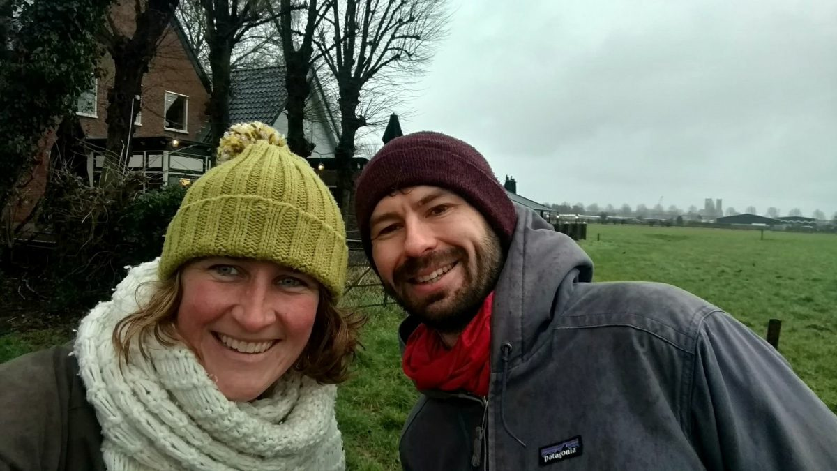 Haarlem hike with Adam