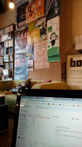 Working writing Booksa