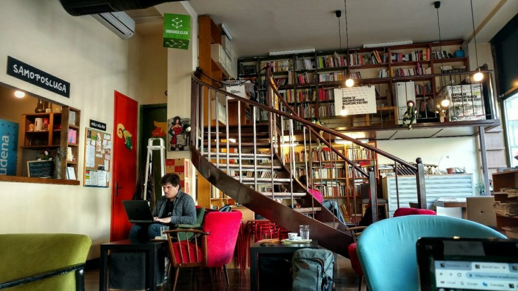Booksa cafe, Zagreb
