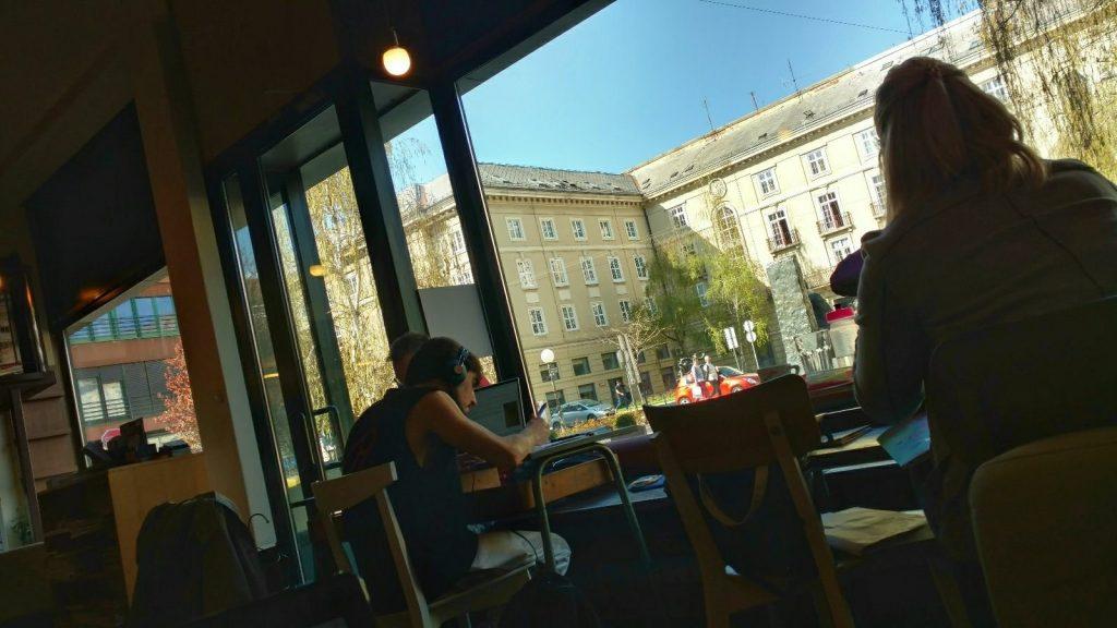 Booksa window view | Life in Zagreb