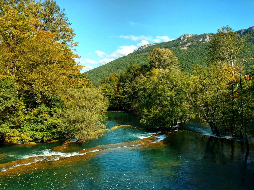 Hiking in Una National Park | Martin Brod | Blue water, Green trail