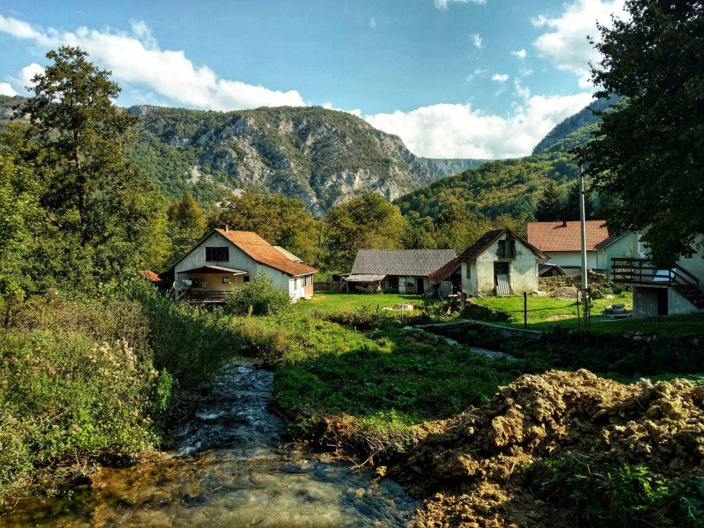 Hiking in Una National Park | Martin Brod | Via Dinarica