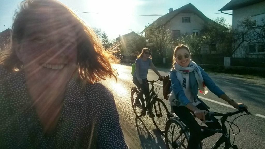 Biking from Zagreb to Samobor and back