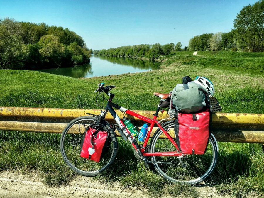 Riding along Rivers   Sava, Croatia