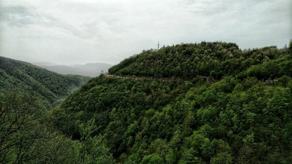 Green mountains in Bosnia and Herzegovina