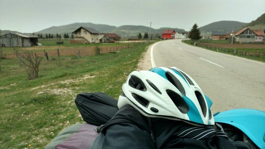 Biking from Zagreb to Sarajevo, perfect road