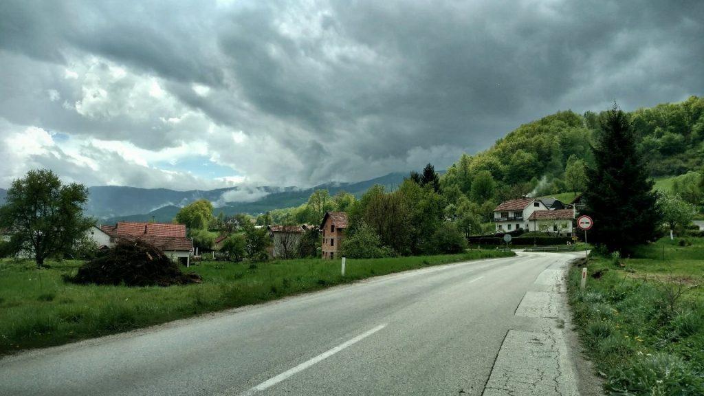 Biking from Zagreb to Sarajeve