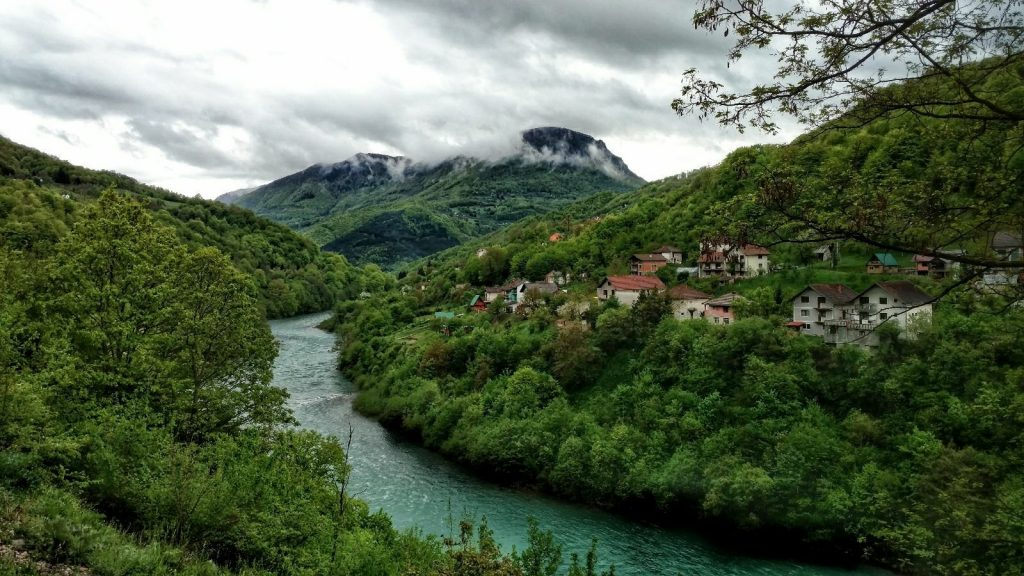 River Drina, Bosnia and Herzegovina