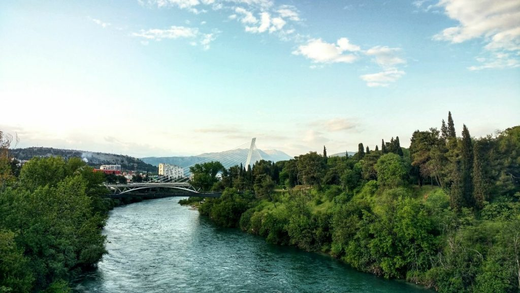 Podgorica, river view