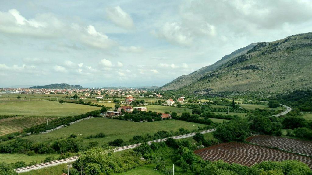 Podgorica valley, Montenegro | Biking from Sarajevo to Mavrovo