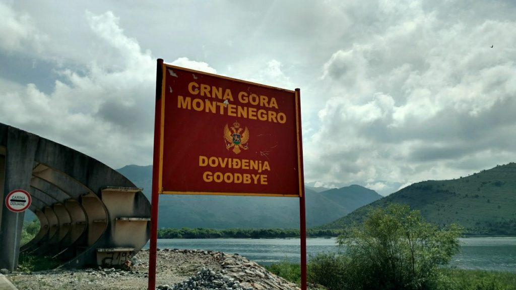 Border crossing Montenegro / Albania | Biking the Balkans
