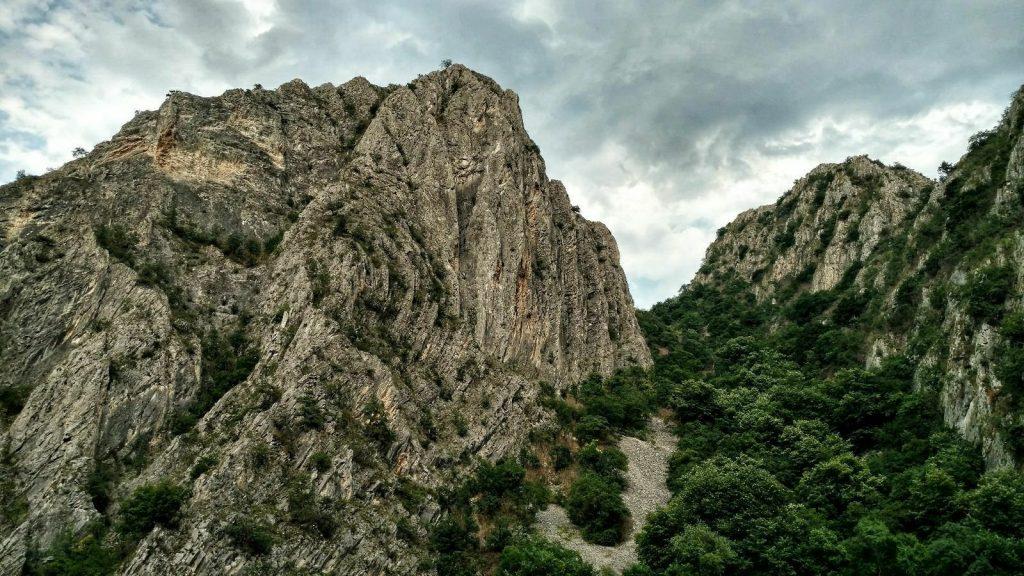 Matka Canyon near Skopje, North Macedonia