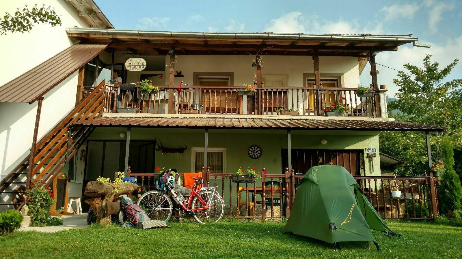 Biking from Skopje to Mostar | Hostel Kitka