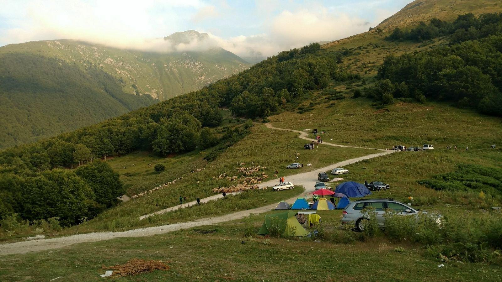 Biking from Skopje to Mostar | Prevallë Kosovo
