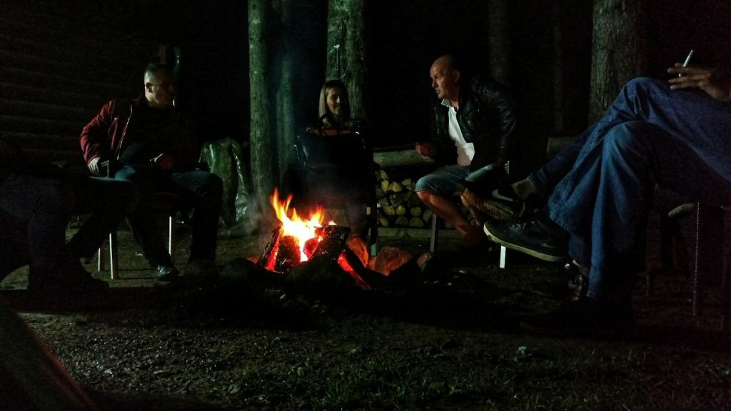 Ognjište garden camp