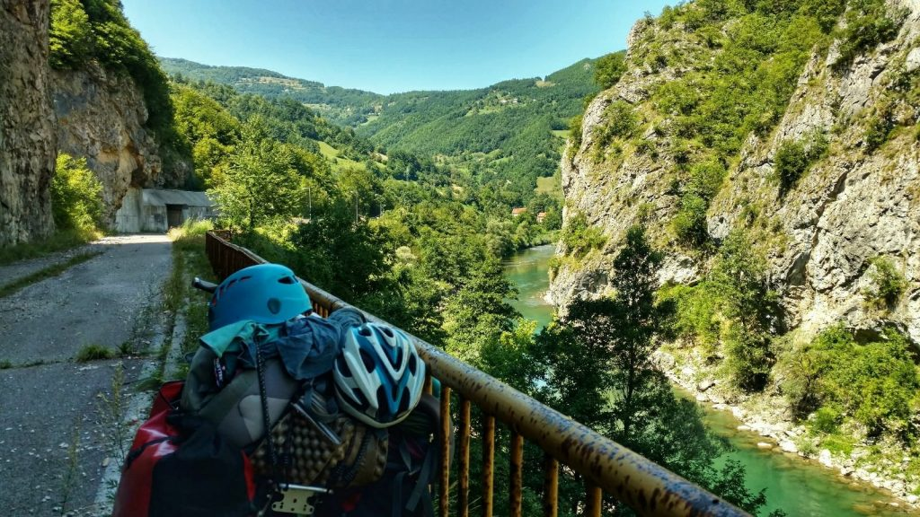 BIKING the BALKANS | Biking from Skopje to Mostar