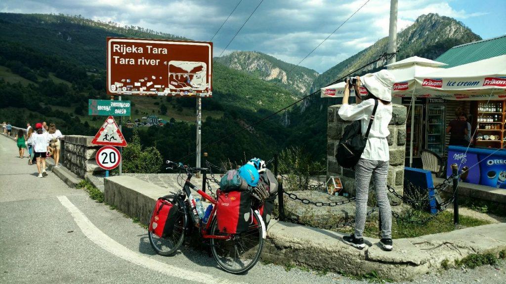 BIKING the BALKANS   Biking from Skopje to Mostar   Tara river