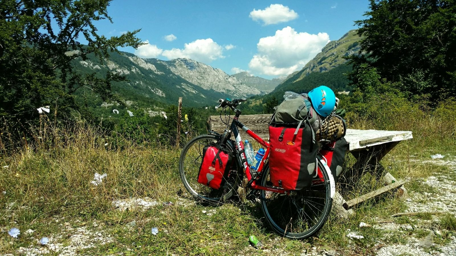 BLOG   Biking from Skopje to Mostar via Durmitor National Park
