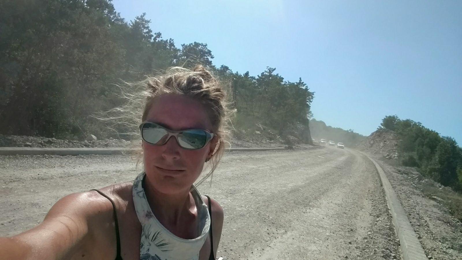Downside of female solo biking