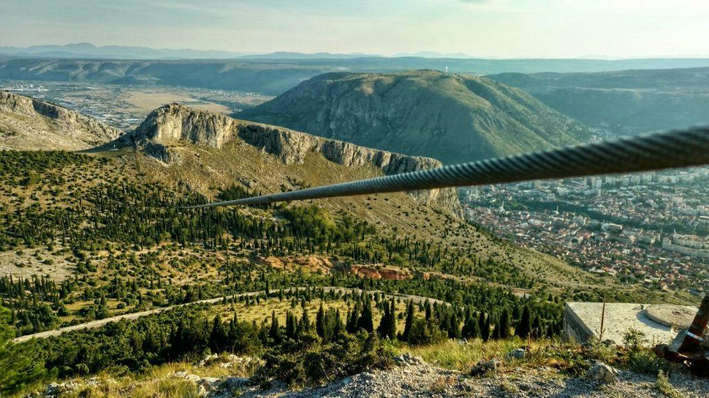 Planinski dom Fortica   Biking from Skopje to Mostar